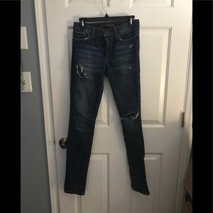 Joe's jeans the skinny size 26 distressed